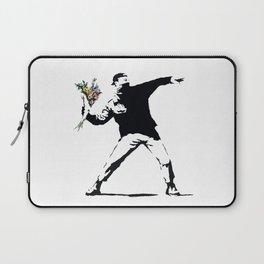Flower Thrower Laptop Sleeve