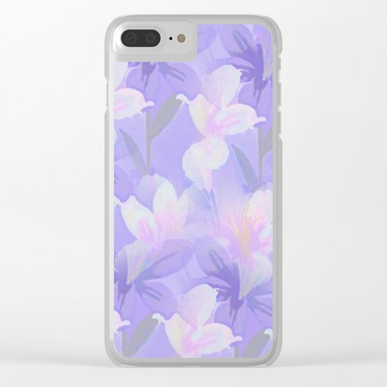 Abundance Of Flowers - Painterly Clear iPhone Case