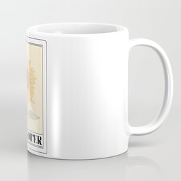 the sunflower tarot card Coffee Mug