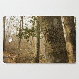 Forest Eyes Cutting Board