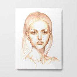 Magic, values sketch Metal Print