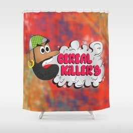 Cereal Killers Shower Curtain