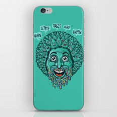 Happy Little Trees Are Happy  iPhone & iPod Skin