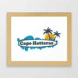 Cape Hatteras - North Carolina. Framed Art Print