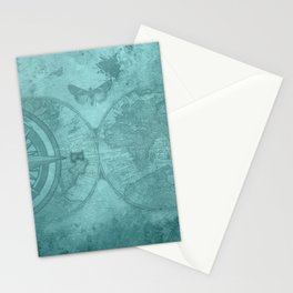 Pirate leggings | World navigator | Steampunk | Witchy leggings | Gym Stationery Cards