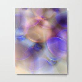 multi rings abstract 1 Metal Print