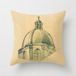 I Duomo di Urbino Throw Pillow