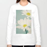 daisy Long Sleeve T-shirts featuring DAISY  by Laura Ruth