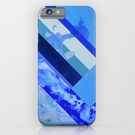 Seasonal Blue 3 iPhone Case