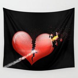 Heartbomb Wall Tapestry