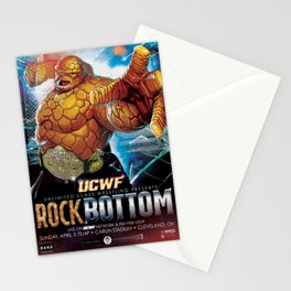 UCWF: Unlimited Class Wrestling Federation PPV Poster Stationery Cards