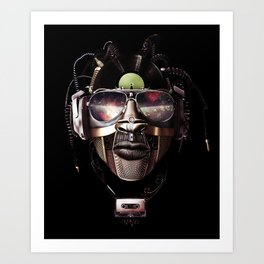 Audio Android Art Print