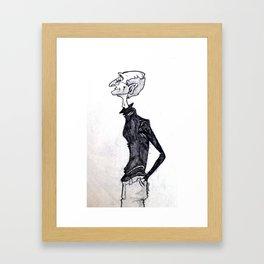 Steve Jobs- A Caricature Framed Art Print
