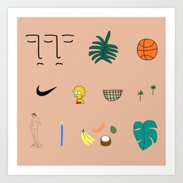 WWA Art Print