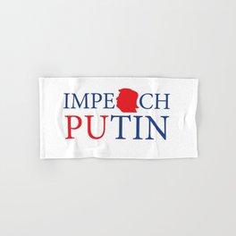 Impeach Putin Hand & Bath Towel