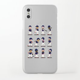 Cleveland Bobbleheads Clear iPhone Case