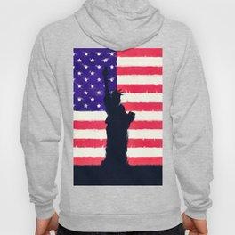 Patriotic American Flag Hoody
