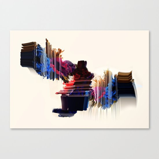 psychedelic Love Canvas Print