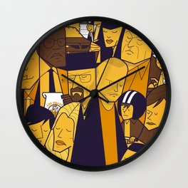 Breaking Bad (yellow version) Wall Clock