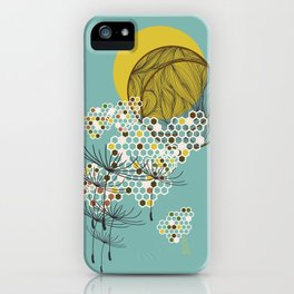 Seasons Time Space iPhone Case