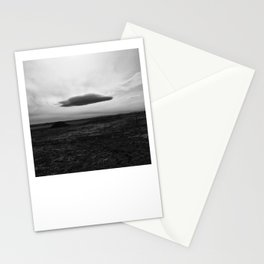 Lenticular Cloud The Santa Fe Trail in Colorado. Stationery Cards