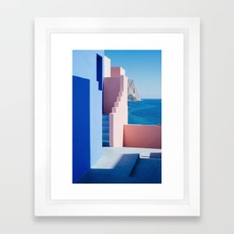Colour architecture Framed Art Print