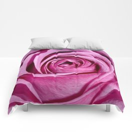 Lovely Rose - pink Comforters