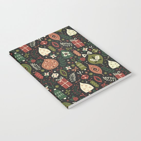 Holiday Ornaments Notebook