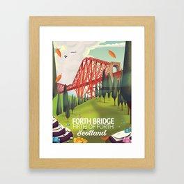 Forth Bridge, Firth of Forth,Scotland Framed Art Print