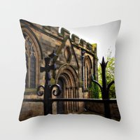 medieval Throw Pillows featuring Medieval by Barbara Gordon Photography