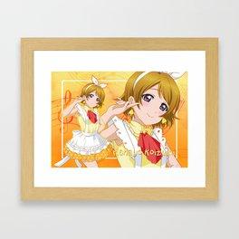 Love Live! Hanayo Koizumi Framed Art Print
