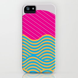 .Waves iPhone Case