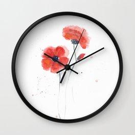 Watercolor 03 Wall Clock