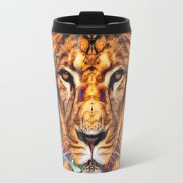 Iron...Like A Lion...In Zion Travel Mug