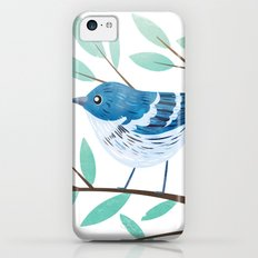 Cerulean Warbler Slim Case iPhone 5c