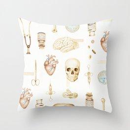 good old days Throw Pillow