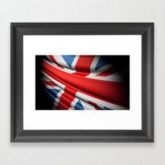 Flag of Great Britain Framed Art Print
