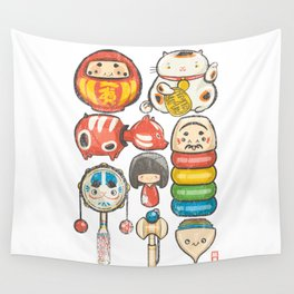Special Lucky Toy Box Wall Tapestry