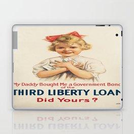 Vintage poster - Third Liberty Loan Laptop & iPad Skin