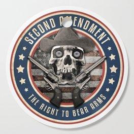 Second Amendment Cutting Board