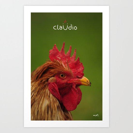Claüdio Art Print