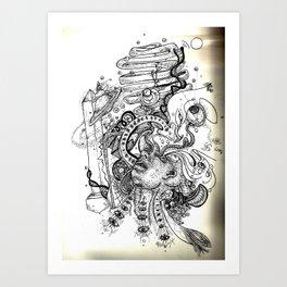 Dimensions of Despair Art Print