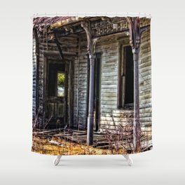 Weathered And Worn Shower Curtain