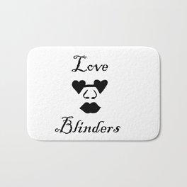 Love Blinders Bath Mat