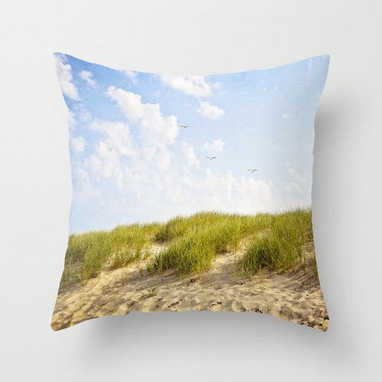 Summer Dunes Throw Pillow