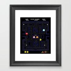 E-MAN Framed Art Print