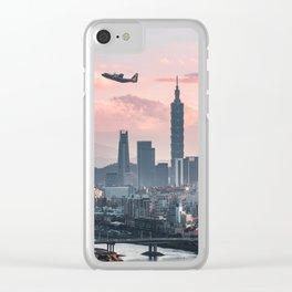 Taipei Takeoff Clear iPhone Case