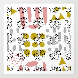 Abstract Pattern 8 Art Print