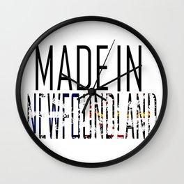 Made in Newfoundland Wall Clock