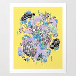 Alien Organism 4 Art Print